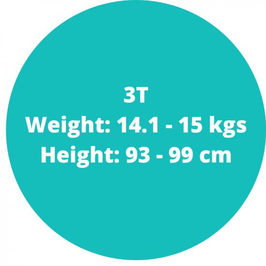 3t (14.1-15.1kgs)