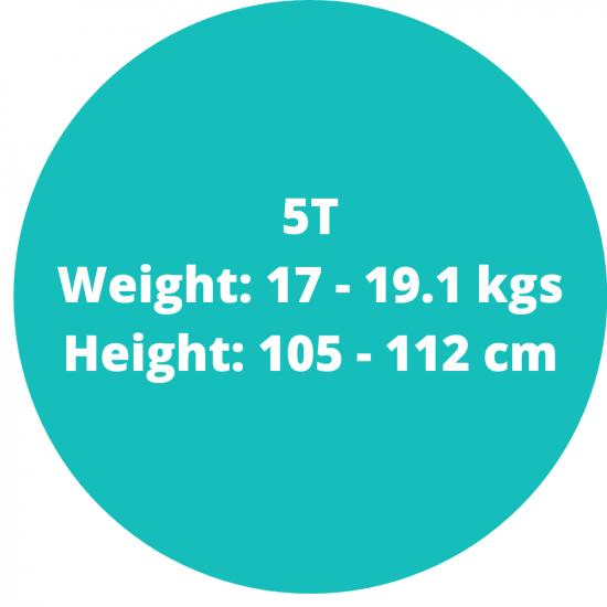 5t (17-19.1kgs)